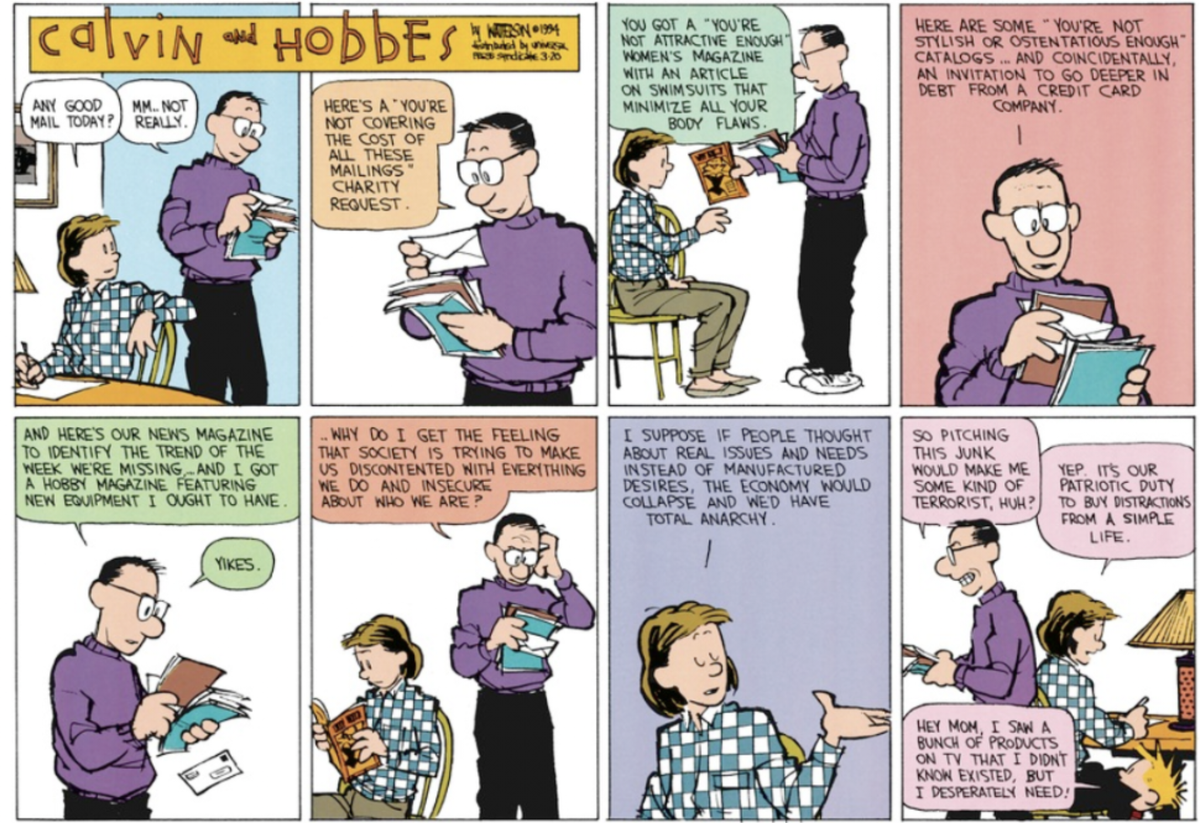 i hope bill watterson is doing okay and is proud of all the children he radicalized with this stuff