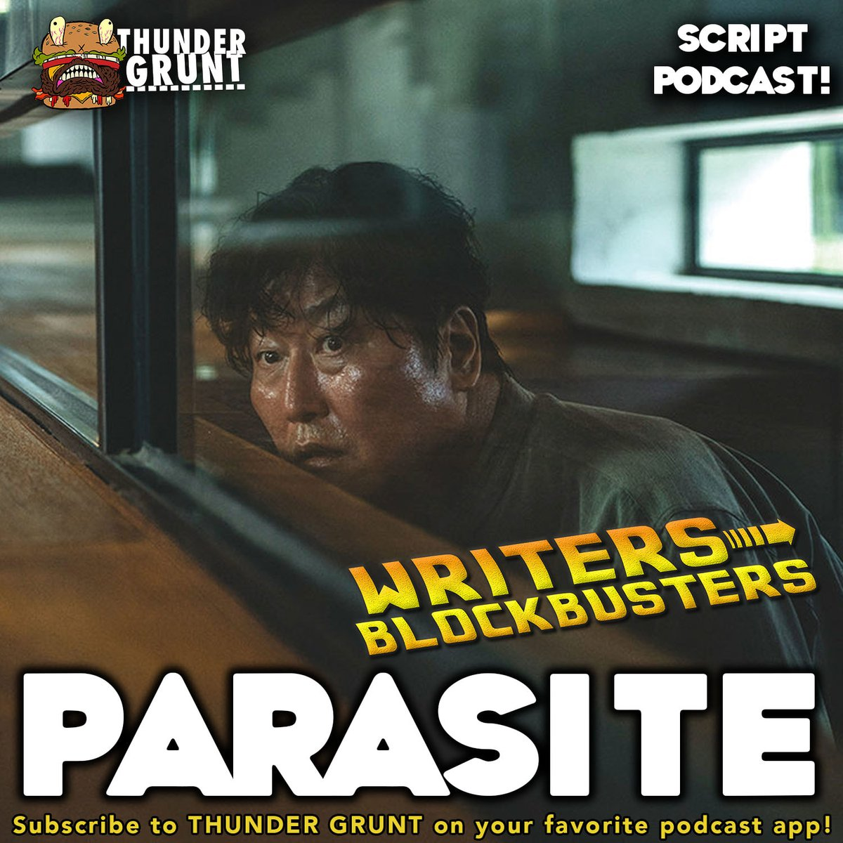 If you liked this mini-thread, check out our Parasite episode of Writers/Blockbusters where @Jamie_Nash @ThunderGruntBob and I discuss the #screenwriting techniques used in the film. thundergrunt.com/e/writersblock…