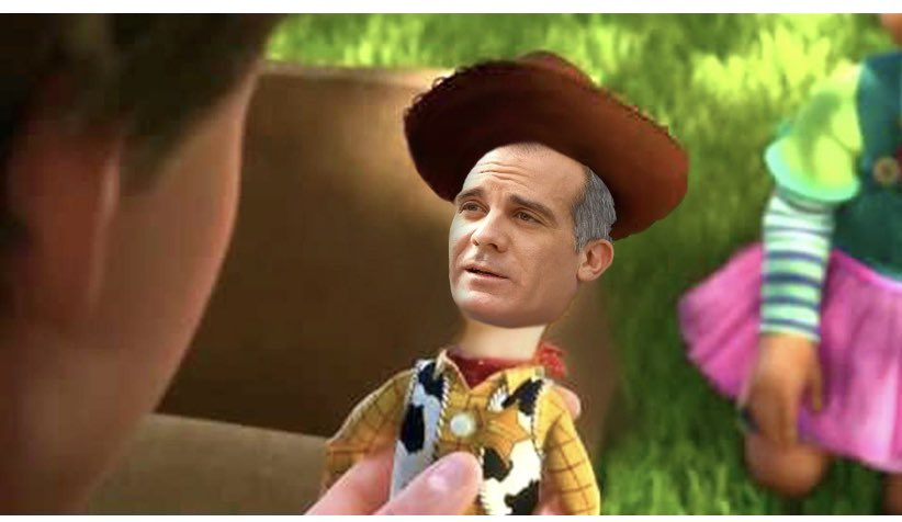 We all know who @MayorOfLA really belongs to