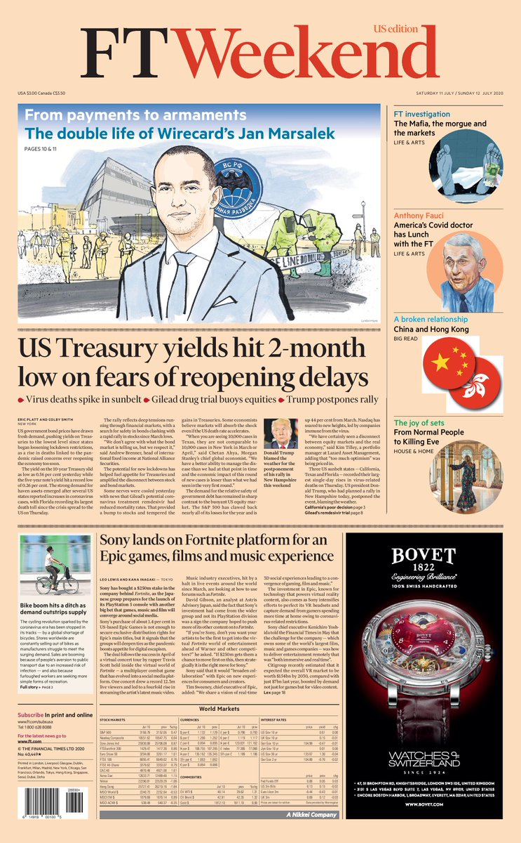 Just published: front page of the Financial Times international edition, Saturday July 11 https://t.co/2ydpxGl38M https://t.co/5ztjcgttPt
