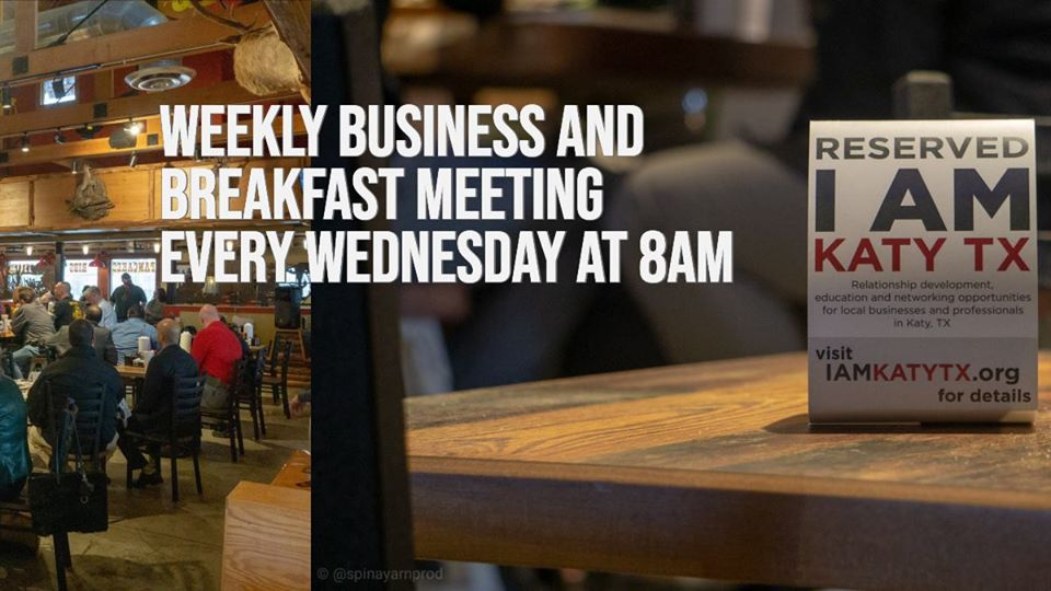 Hope to See You Wednesday!!    Join us on Wednesdays for our Weekly Business and Breakfast Meeting via Zoom!!!!  Click Here to Register:  https://t.co/aXclwYP7xz  #iamkatytx #businessnetworking #buildyourbusiness https://t.co/1vYyZfkbD7