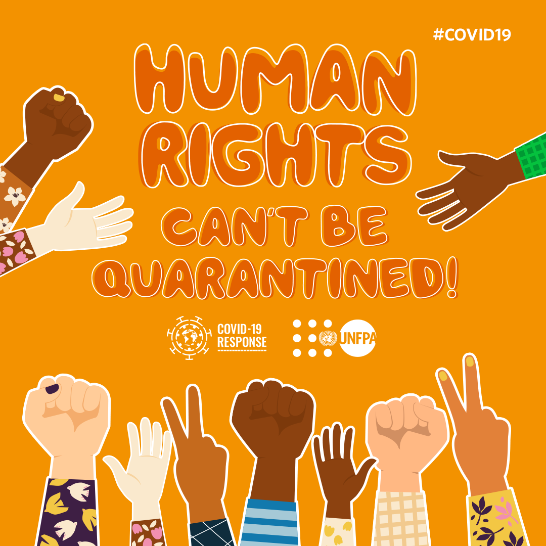 Human rights can't be quarantined! On Saturdays #WorldPopulationDay, see how @UNFPA is protecting human rights for millions of people affected by the #COVID19 pandemic: bit.ly/3eoraek #StandUp4HumanRights