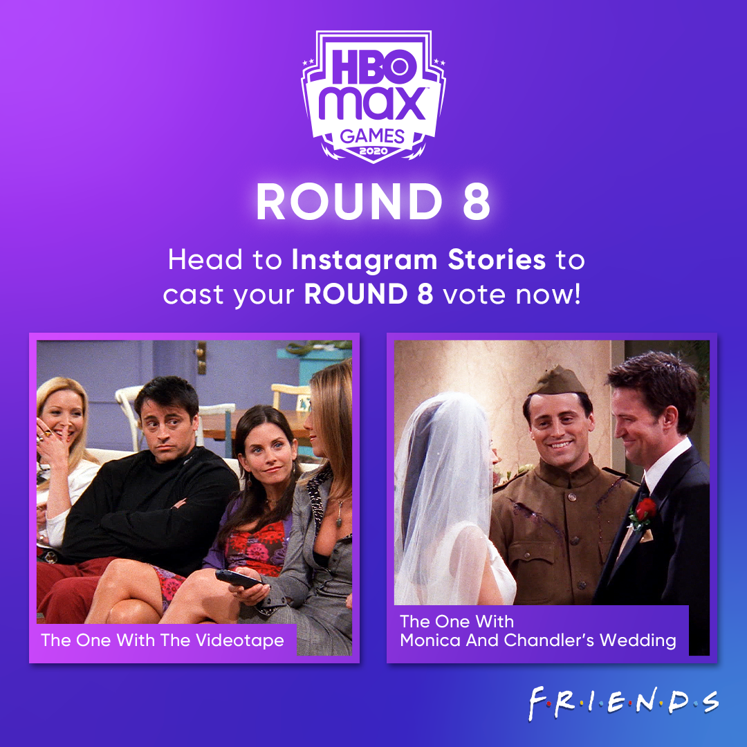 Round 8 of #HBOMaxGames is now open! Head to our Instagram Stories to cast your vote now!