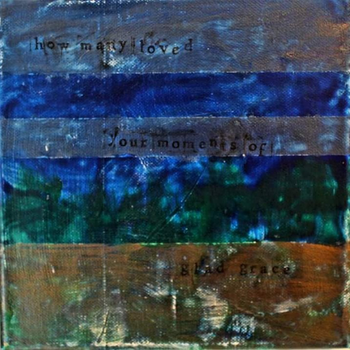 "Moments of Glad Grace SPOTLIGHT: ""Petrichor 1"" the first piece in a triptych by Hugh Murphy, acrylic on canvas 20x20cm unframed €70 or €180 for all three parts #momentsofgladgrace #kinvara #KAVA #artoninstagram #artingalway #triptych #acrylicpaintingpic.twitter.com/vx8adFpfKn"