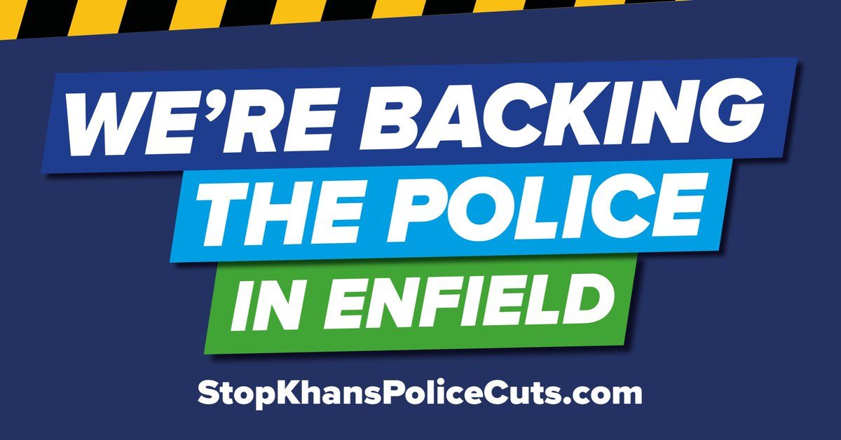 Say no to the Mayor's Police cuts. #Enfield #Edmonton #BushHillPark #Crime https://t.co/UOxDn829GX