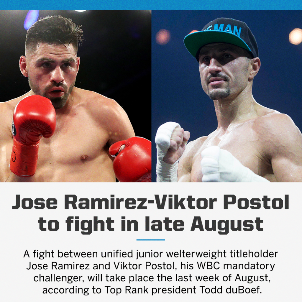 Third time's a charm?   Ramirez-Postol has been scheduled for the third time in 2020. (via @StevESPNKim) https://t.co/ON3211fdsf