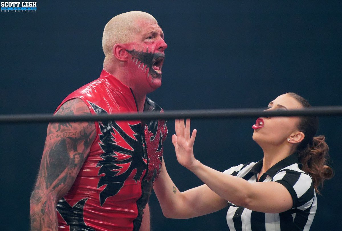 Me chomping at the bit waiting on my partner @realmmarshall1 to get well and get his ass back to work. Hold me back @RefAubrey ..... I need to beat somebody up! #AEW