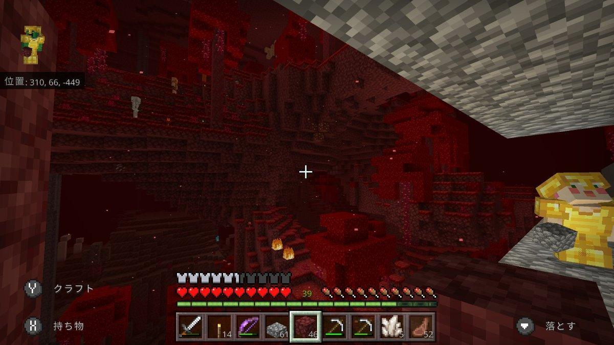 赤い森の中にネザー要塞発見!!!通路を作りながら要塞攻略♪♪アプデ後からノーマルモードなのにモブの沸きがホントおかしいw黒いスケルトンの頭もフライドポテトも無事ゲット! #Minecraft #マイクラ #マインクラフト #NintendoSwitch