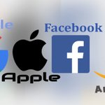 Image for the Tweet beginning: US Tech Company Giants will