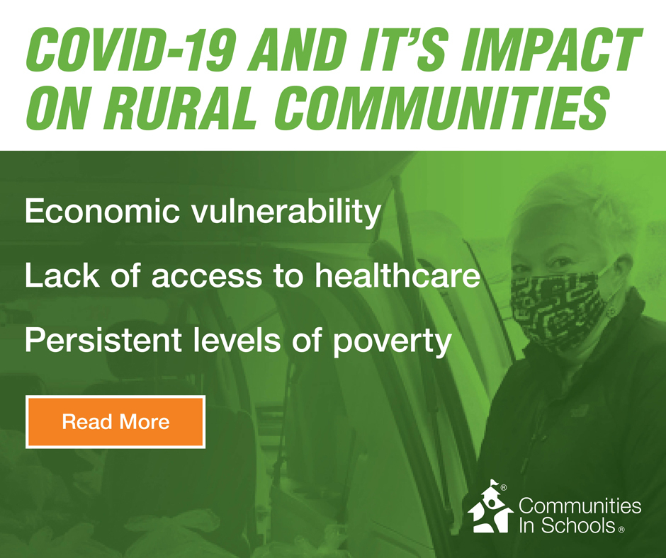 #DYK 1 in 7 students live in rural communities across our nation? Learn how Communities In Schools is nationally making an impact across the US even in the midst of the COVID-19 pandemic. Read more here: https://t.co/GfuL72PxPO #AllinforKids https://t.co/g0bAHwoEAV
