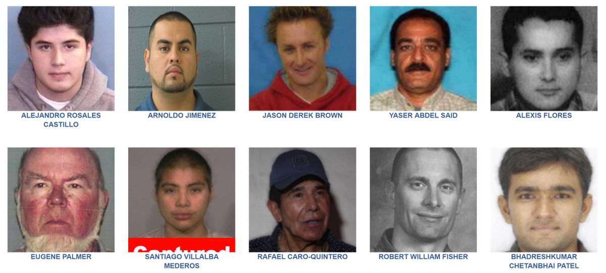 #DYK 2020 marks 70 years of the #FBI's Top 10 Most Wanted Fugitive List. Visit our website to learn more about who's on the list: https://t.co/hbq6SSrsCd  #FugitiveFriday https://t.co/U7hL6sb84E