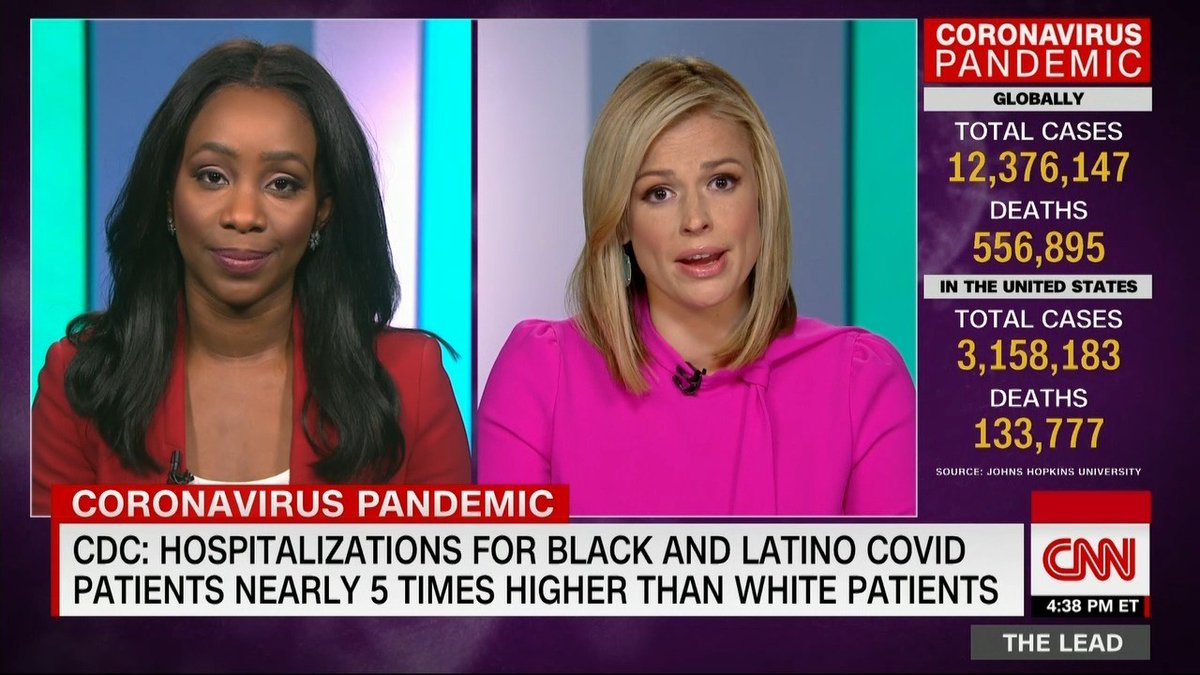 COVID hits Black & Latino Americans at staggering rates @abbydphillip reports @PamelaBrownCNN