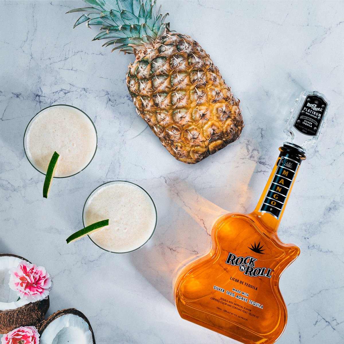 IF YOU LIKE PIÑA COLADAS… Then you're gonna love this recipe.⁣  Recipe:⁣ - 2.5 ounces Mango Rock N Roll Tequila⁣ - 1 cup of ice⁣ - 1/2 cup of diced pineapple⁣ - 2 ounces pineapple juice⁣ - 2 ounces coconut cream⁣ - 1 ounce simple syrup⁣ - .5 ounce fresh squeezed lime⁣ https://t.co/aQt4TTTwSj