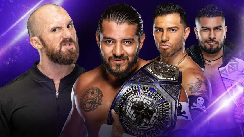 WWE 205 Live Recap (7/10): Santos Escobar Makes His Debut, Mansoor Takes On Tehuti Miles