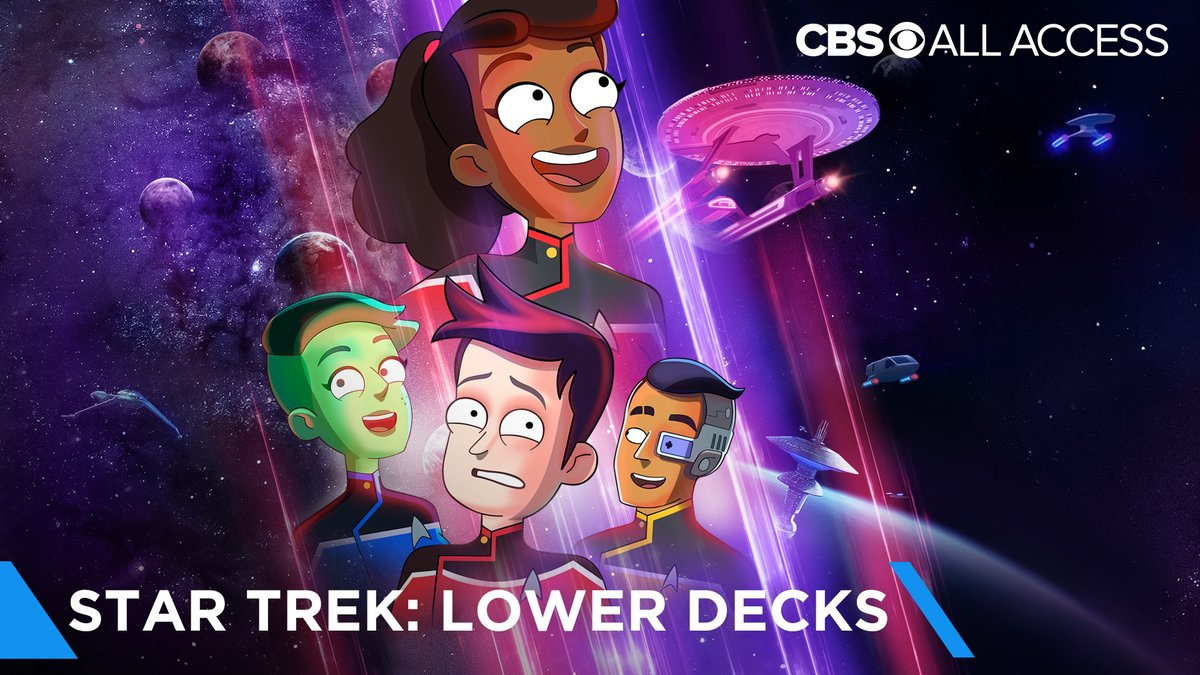 Adventure has to start somewhere. Start now with the #StarTrekLowerDecks Official Trailer.  New series August 6, only on @CBSAllAccess.