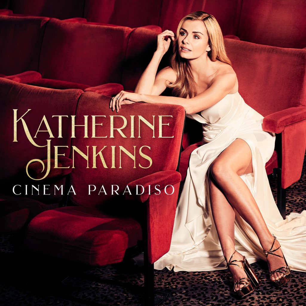 A huge congratulations to @KathJenkins whose new album 'Cinema Paradiso' achieved a #1 UK Classical Chart and a #3 UK Album Chart 👏👏 https://t.co/ZydyS0oiPZ
