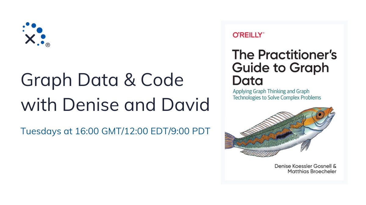 Tune in next week for a new Graph Data & Code with @DeniseKGosnell & @SonicDMG, covering: 1. Introduction to #timeseries + #graphdata  2. Deep dive into how this data helps power companies mitigate failure scenarios  3. Moar Traversals! https://t.co/ucB1bOOKJX https://t.co/1NnB9oebjZ