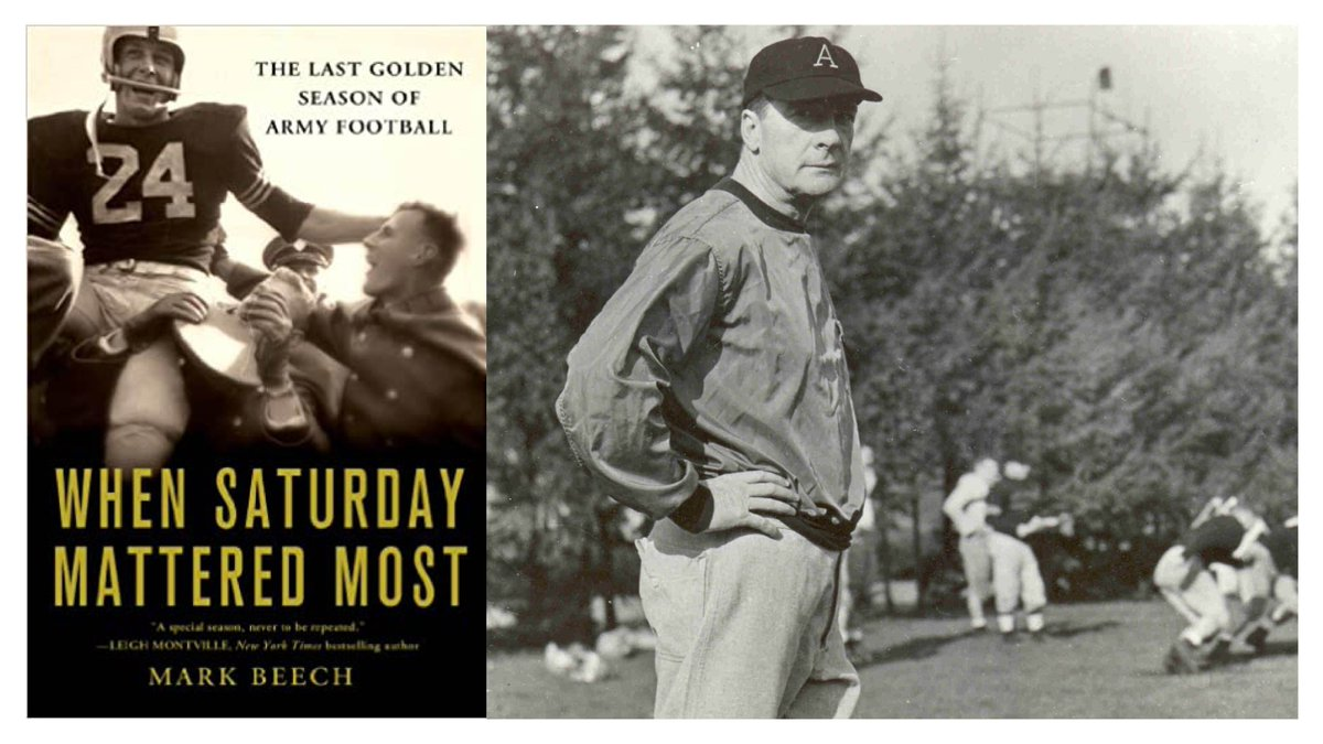 When Saturday Mattered Most: The Last Golden Season of @ArmyWP_Football NFF Correspondent Loran Smith reviews the book by @MarkBeech2pt0 that captures the 1958 Army football season and the advent of the Lonely End. footballfoundation.org/news/2020/7/10…