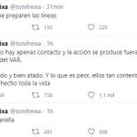 Image for the Tweet beginning: 💥 @tonifreixa estalla en el