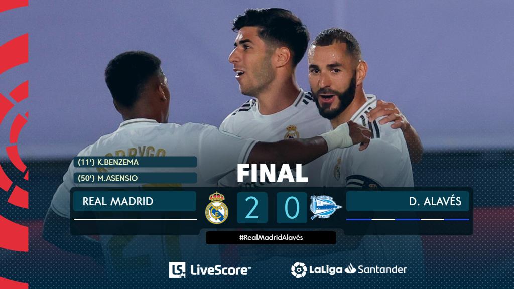 Real Madrid-Deportivo Alavés