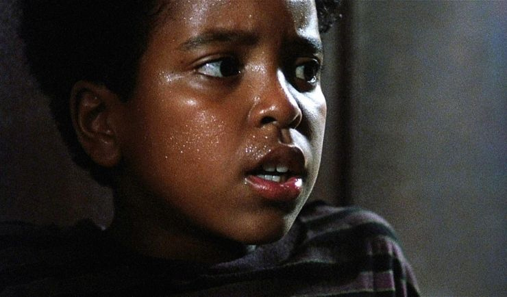 Lets recognize #BrandonQuintonAdams for his #finalguy role as Fool in Wes Cravens The People Under the Stairs. This movie was disturbing, funny & crazy!! Its not often you see a black kid carry an entire movie. Thats was a big deal during the 90s. #blackmeninhorror