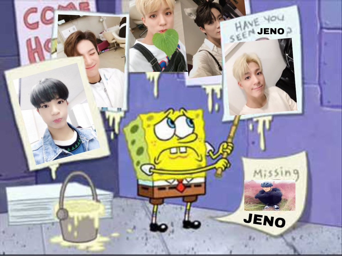 Jeno as the cat emojis; a very cute thread because i miss jeno. please come home