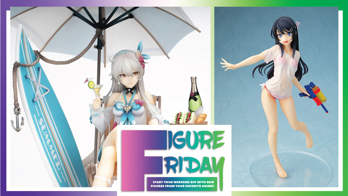 Soak up some sun and cool off with this weeks #FigureFriday! Turn your shelves into your personal oasis with these great figures! Take a peek 👀 👉 rsani.me/mvinh #Figures #Anime #AnimeHaul