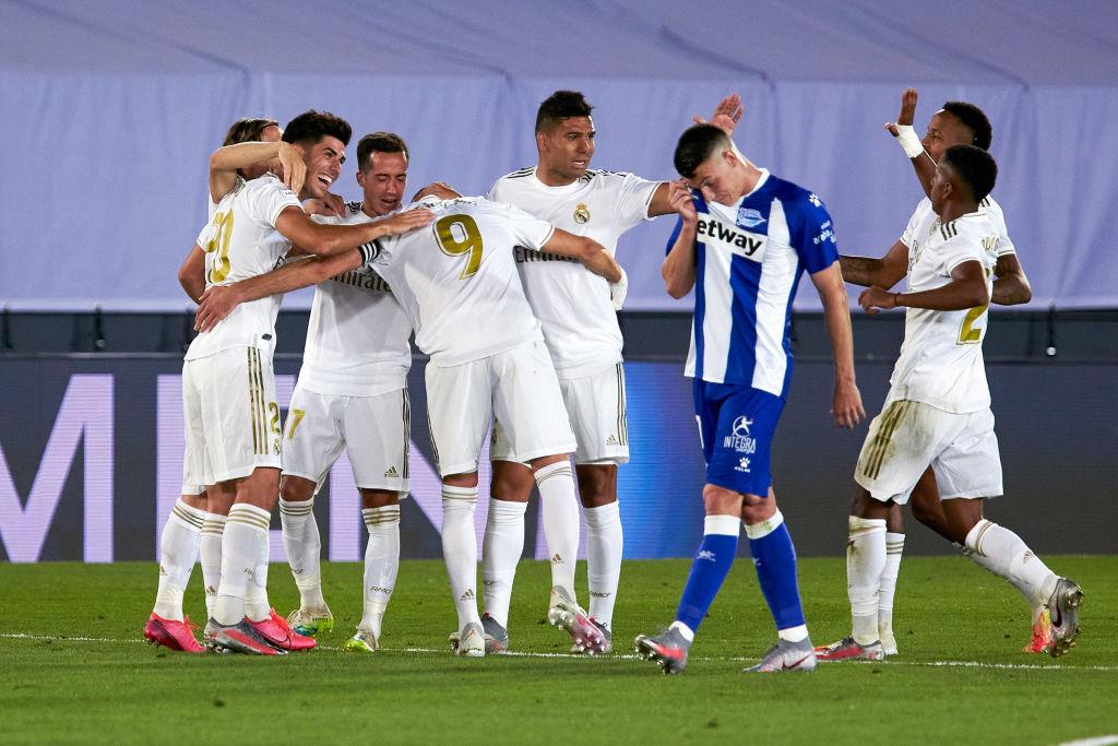 Xem lại bóng đá Real Madrid vs Alaves, La Liga – 11/07/2020