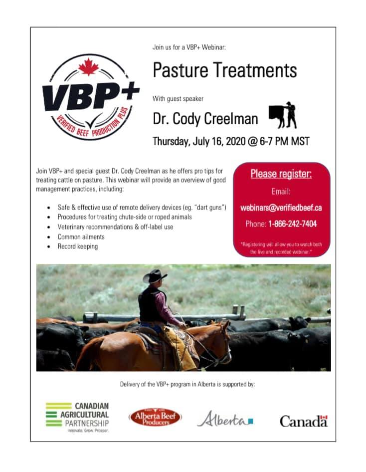 Check out this awesome opportunity. To register: https://t.co/XoXQ6UdBXv #livestock #pasture #cattle #VBP #farm #alberta https://t.co/igoRbnWzjY