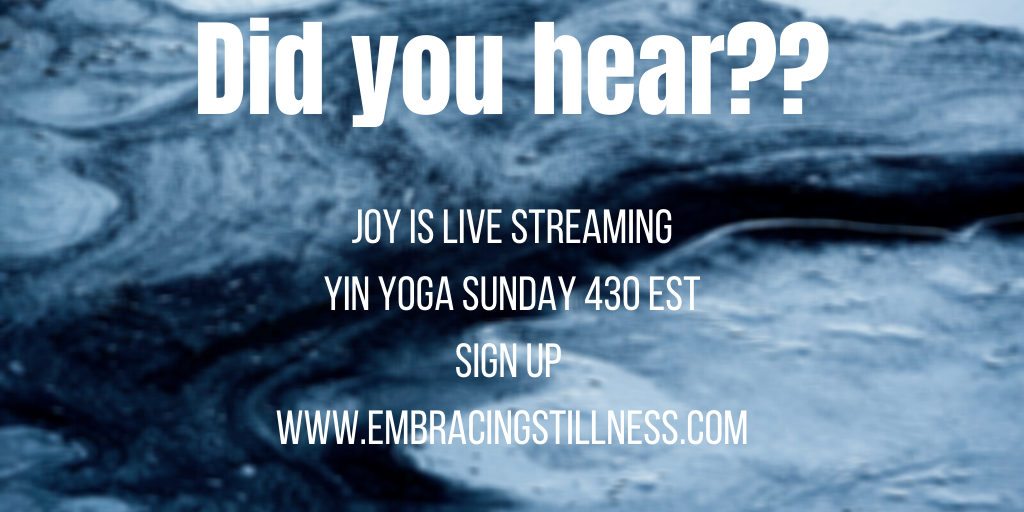 #livestreaming #wellness #yinyoga #selfcaresunday #selfcare #healing #yoga https://t.co/WHJrMFGLPX