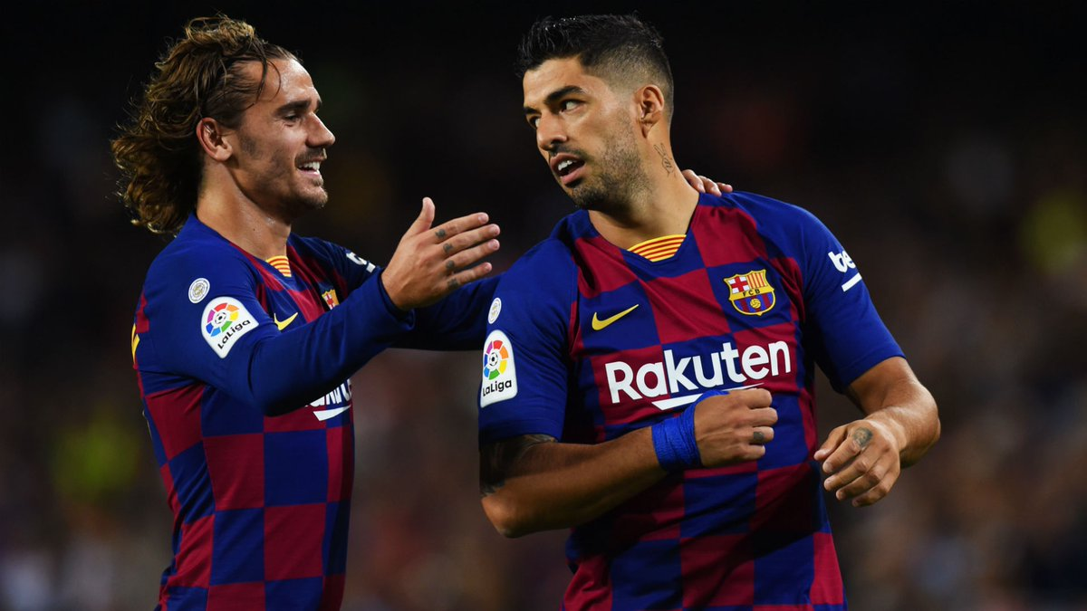 """Suarez: """"Griezmann will always have our support."""" https://t.co/ZVGKYdqBqc"""