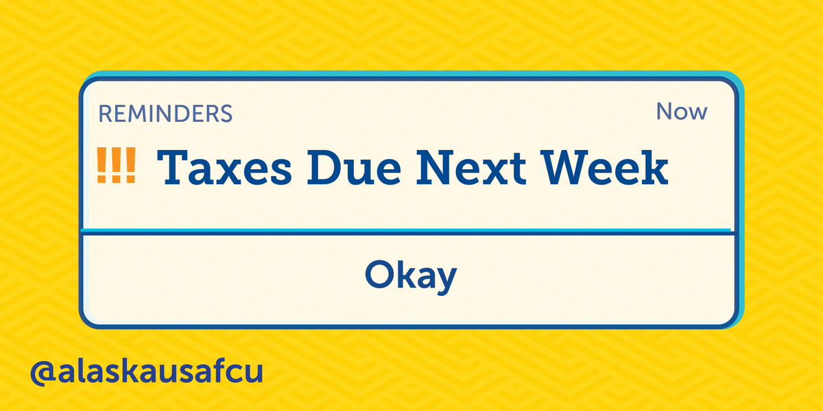 Quick reminder—taxes are due next Wednesday, July 15th. If you're worried about making the full payment, contact the IRS to ask about payment options available to you. https://t.co/feRYaKzjzR