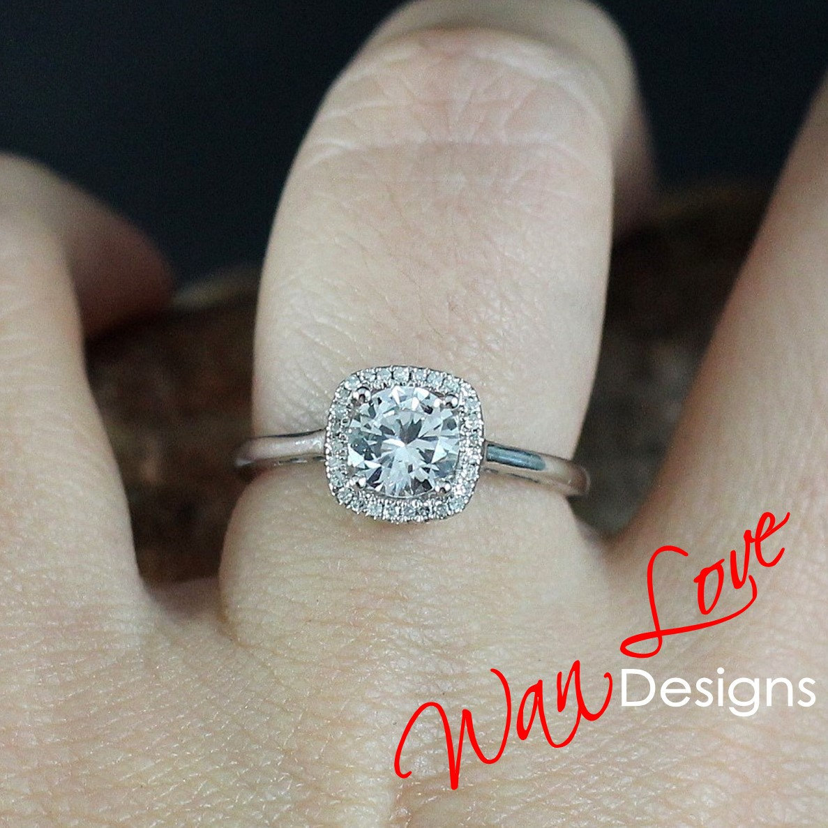 Forever One Moissanite & Diamond Halo Engagement Ring, Cushion, Round,1ct,6mm,Plain Shank band,14k 18k White Yellow Rose Gold-Custom-Wedding http://tuppu.net/395bc6f4  #Etsy #WanLoveDesigns #Weddingrings #Anniversarygift #RoundCutMoissanitepic.twitter.com/EW3aAYICYF