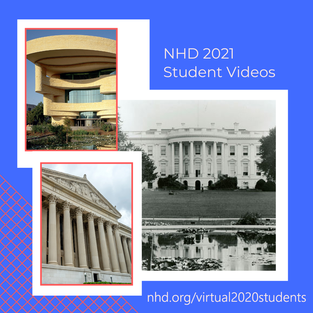 #DYK @USNatArchives, @SmithsonianNMAI, and @WhiteHouseHstry developed short videos for student researchers to help with #NHD2021?   WATCH these #MustSeeNHD topic videos and more at https://t.co/p6kwi3FOkg! https://t.co/9nYStbvOiY