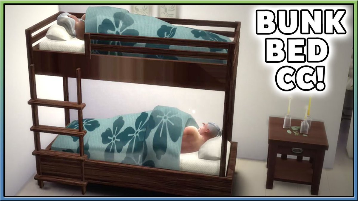 Picture of: Julian Iron Seagull En Twitter New Video Pandasamasims4 Is Making Bunk Bed Cc For The Sims 4 With Ladder Animations And More Https T Co Sk8wz4ikbt Thesims Thesims4 Https T Co Mfu507vo5x