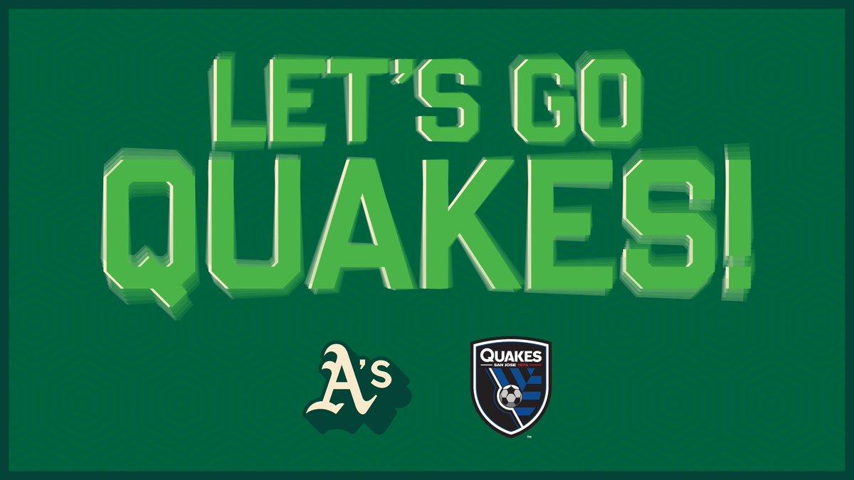 ¡Los Quakes regresan a la acción esta noche! ️⚽️ ¡Vamos @SJEarthquakes! 👏 #BayAreaUnite https://t.co/4A3i0MX5Hf