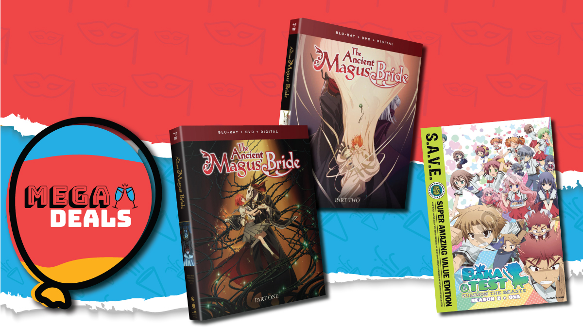 Todays Mega Deals are ENDING SOON! ⏳ Collect both parts of #AncientMagusBride & #BakaAndTest at insanely ⬇ L O W ⬇ prices! Dont wait, order now! 👉 rsani.me/hj36r #Anime #MegaDeals #BirthdaySale #LastChance