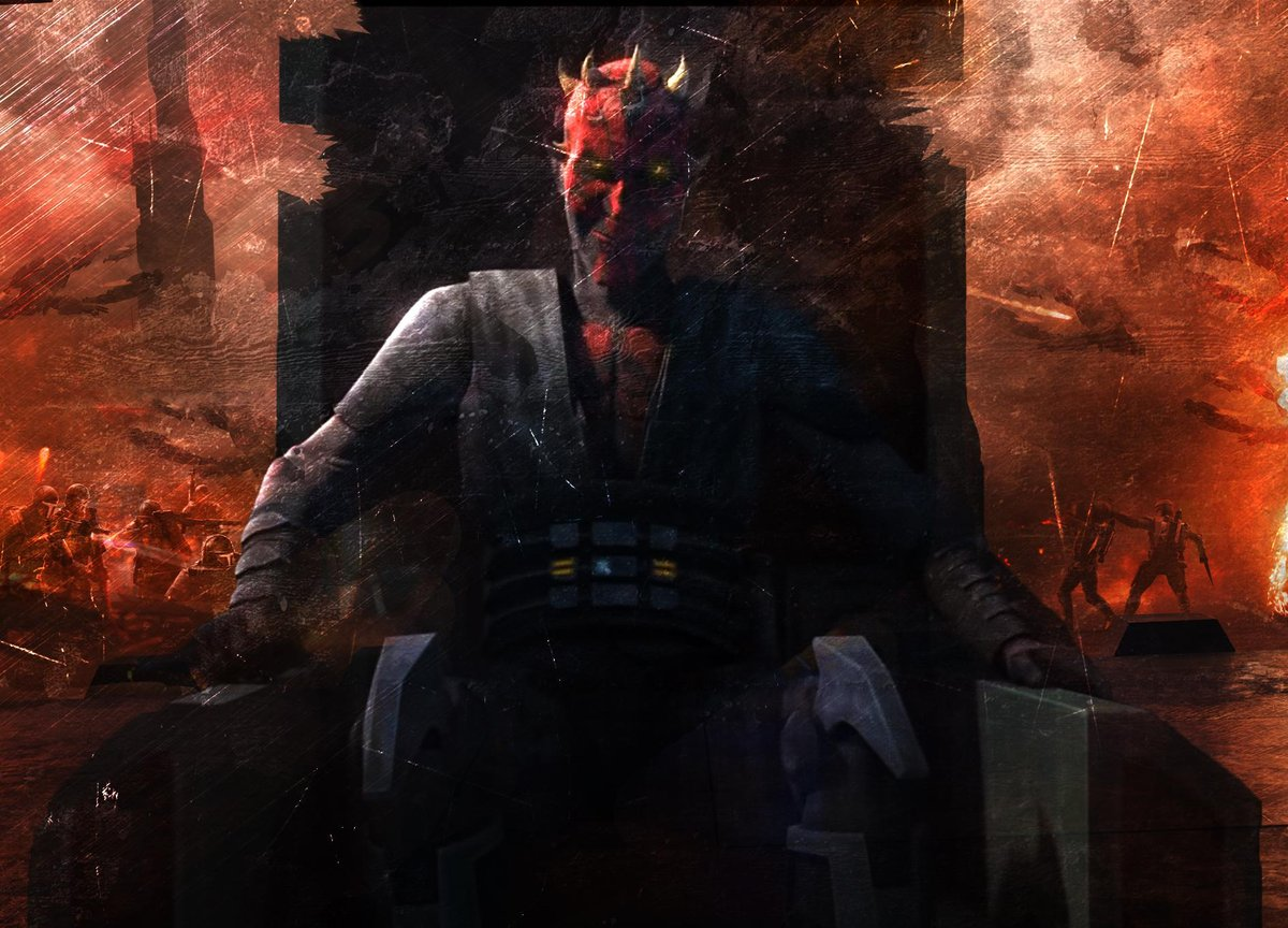 Maul, The Son of Dathomir  (Credit to Kevin_Science on Reddit)  #darthmaul #sith #starwars #darkside https://t.co/vXkUnbOMQi