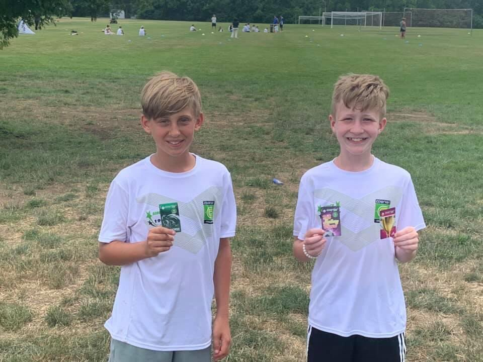 Two of our U13 Boys spent the week learning at Coerver Camp in Columbus. Corbin took home the Workhorse Award and Reece was on the World Cup Champions and won the Ball Mastery Wizard Award. Great job boys.pic.twitter.com/ohjfuZ0pKX