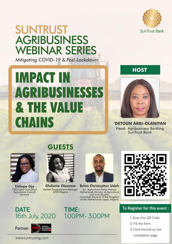 Mitigating #Covid_19 and Post - #lockdown: Impact in Agribusinesses & the Value Chains   With increased worldwide awareness of #foodsecurity and sustainable #Food production, agriculture is rapidly growing as one of the key industries on both domestic and global level.  @UN_Women https://t.co/yxhZvwUDBv