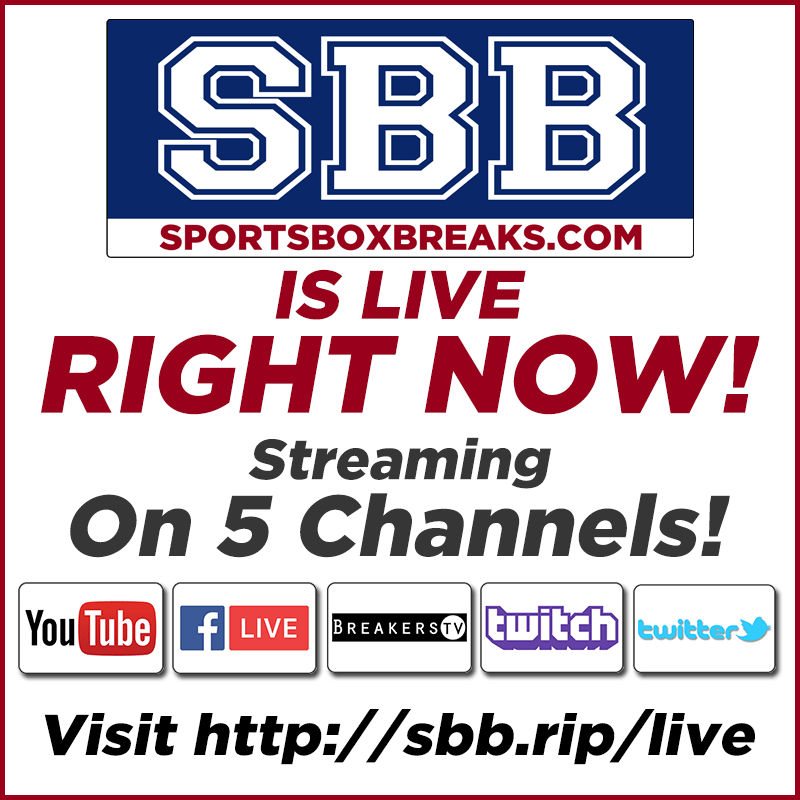 ⚠️ LIVE NOW: SOLD OUT: 2020 @Topps  Archives Sig Series 15-box Hit Draft #1 Click here for Live Stream: https://t.co/GeEJJU4hWe ⚠️   #SBB #thehobby #groupbreaks #sportscards #collect #cardbreaks #boom #sportsboxbreaks #boxbreaks #topps #archives #baseball https://t.co/KHcLiPR1NK