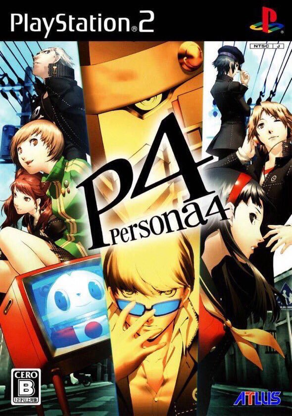 Shin Megami Tensei: Persona 4 for the PS2 was released on this day in Japan, 12 years ago (2008)