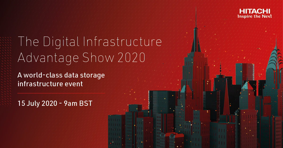 Do you need better #data center visibility … without breaking the bank? This is the event for you! Register for The Digital Infrastructure Advantage Show on July 15 to learn more: https://t.co/n8EQwVg66r #YourInfrastructureAdvantage #HitachiDIAS2020 https://t.co/6oO7Aw21Zf