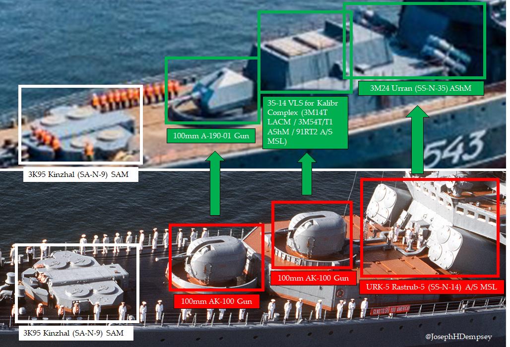 Udaloy and Sovremennyy destroyers - Page 15 EcmioPGXgAAEmri?format=png&name=medium