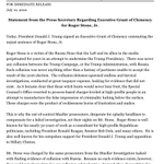 Image for the Tweet beginning: INBOX: Statement from the Press