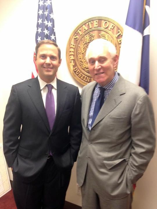 Roger Stone came by to visit me during the 85th Session. He seemed like a really nice guy. Hope he comes by next Session!