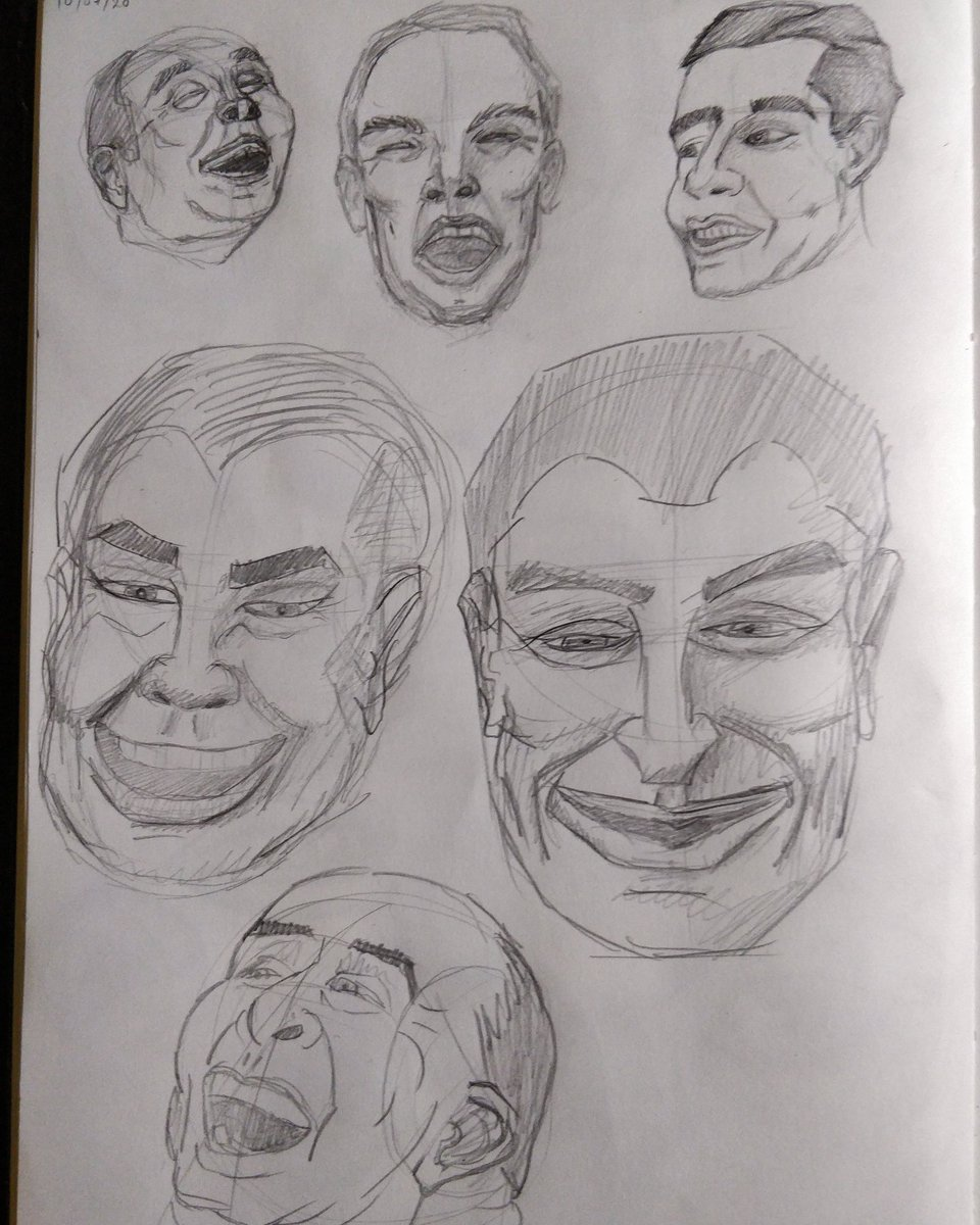 Learning to draw day 30 - worked on some smiles today  #art #sketch #sketchings #sketchingdaily #sketchdaily #drawingdaily #drawings #drawwomen #drawing #drawdaily #faces #drawingeveryday #sketcheveryday #sketches #learnart #sketch_daily #sketchings #sketchbookdrawing pic.twitter.com/a1GdZPi0nj