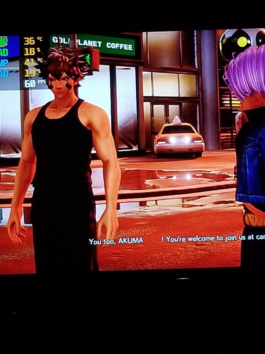 My jump force character looks decent for a scott type https://t.co/40tRjYEXl0