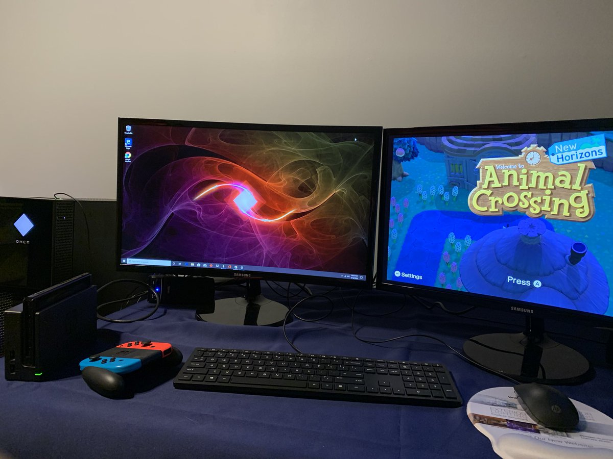 Upgraded! New streaming and gaming wares completed with an Omen PC and an Elgato! Can't wait!  - #newcomputer #gamingcomputer #gamesetup #twitch #twitchtv #streamer  #twitchstreamer #twitchcommunity #omenhpgaming #elgatogaming #switch #animalcrossingnewhorizonspic.twitter.com/xdOP8ClrH3