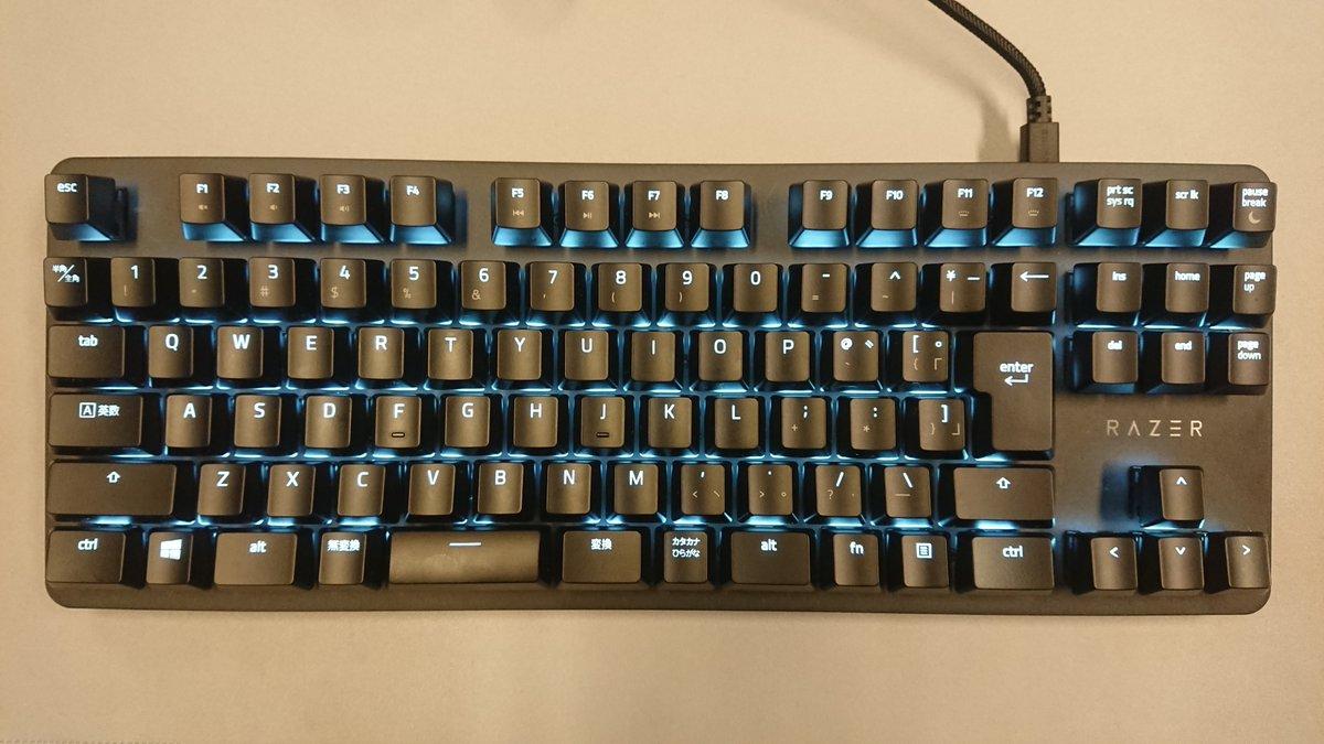 Razerのゲーミングテンキーレスキーボード 『BlackWidow Lite』日本語配列版が入荷しました!  コンパクトなテンキーレスの筐体に 静音仕様のスイッチ! 日本語配列なのでゲームはもちろん ビジネス用途にもオススメです♪ (゚∀゚)キタコレ!! https://t.co/Fj8zr87s2f